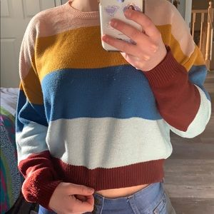 H&M Divided multi coloured sweater